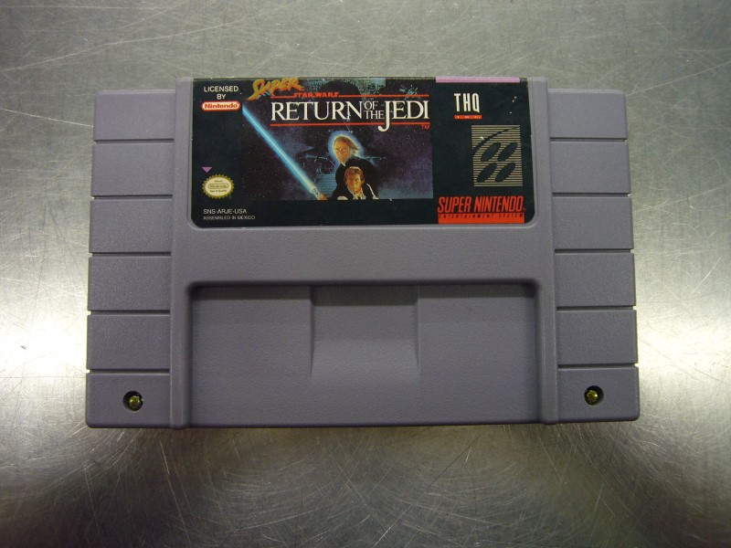 NINTENDO SNES Game SUPER STAR WARS RETURN OF THE JEDI *CARTRIDGE ONLY*