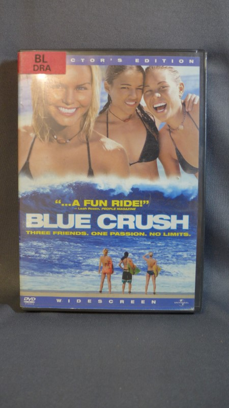 DVD MOVIE DVD BLUE CRUSH