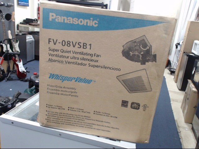 PANASONIC Air Conditioner FV-08VSB1