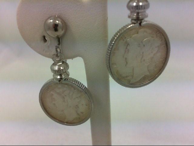 Earrings Silver Stainless 8g