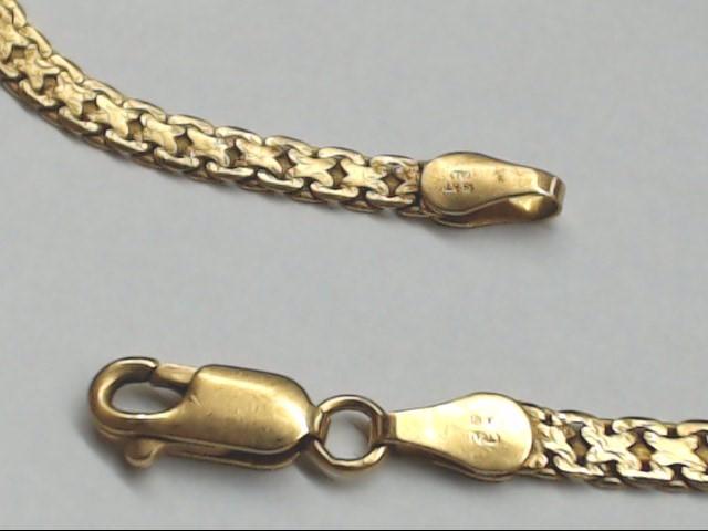 Gold Bracelet 18K Yellow Gold 5.8g