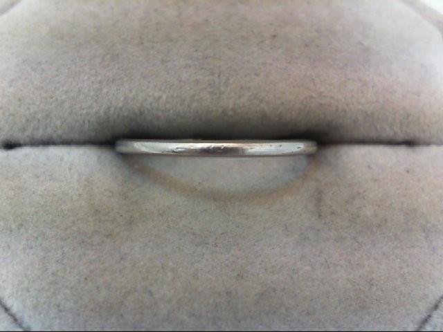 Lady's Platinum Ring 900 Platinum 1.7g Size:7.5