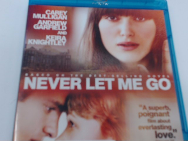 NEVER LET ME GO - BLU-RAY MOVIE