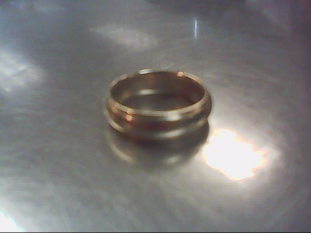 Gent's Gold Ring 14K Yellow Gold 8.1g Size:8.5