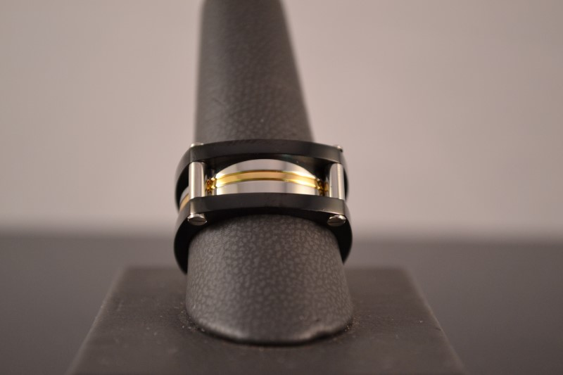 Gent's Ring Silver Stainless 12.2g