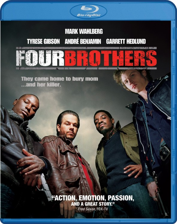 bluray MOVIE DVD FOUR BROTHERS