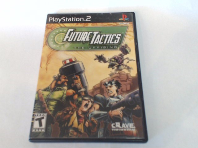 FUTURE TACTICS UPRISING SONY PLAYSTATION 2