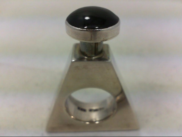 PERFUME BOTTLE .925 SILVER W/ SIL FUNNEL