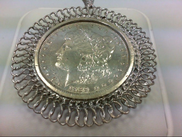 1889 MORGAN DOLLAR PENDANT