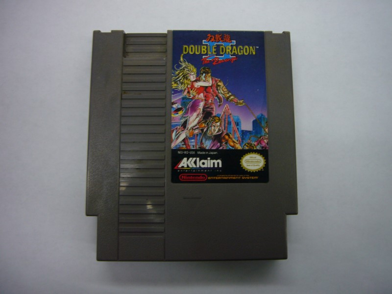 NINTENDO NES Game DOUBLE DRAGON II *CARTRIDGE ONLY*