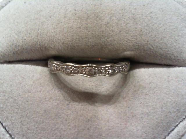 Lady's Diamond Wedding Band 17 Diamonds .22 Carat T.W. 14K Yellow Gold 1.7g