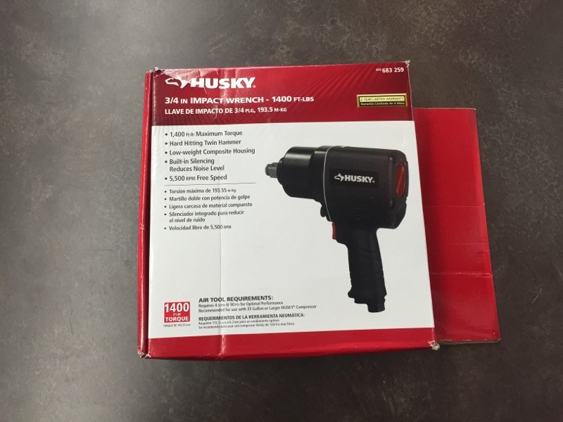 HUSKY Air Impact Wrench 683259 683259