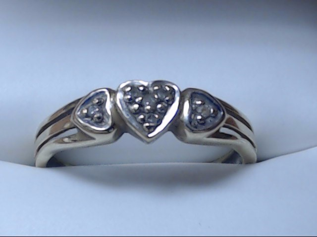 Lady's Gold Ring 10K Yellow Gold 1.9g Size:7.5