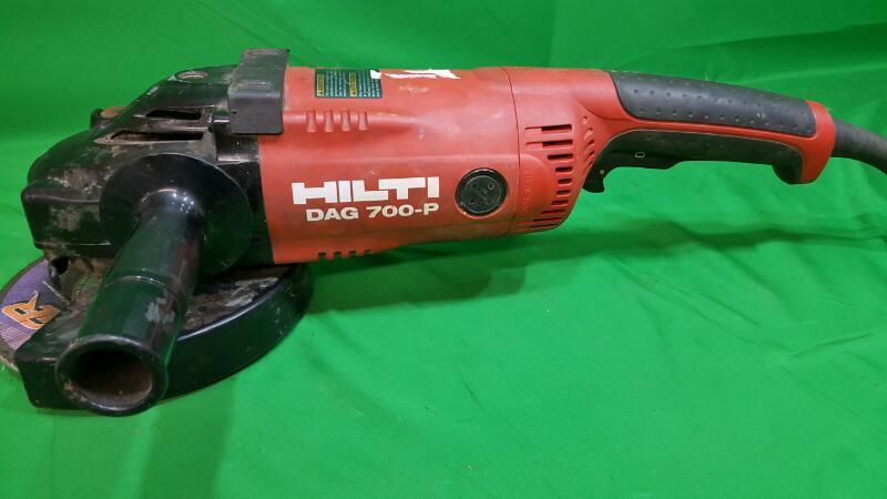 HILTI Disc Grinder DAG 700-P