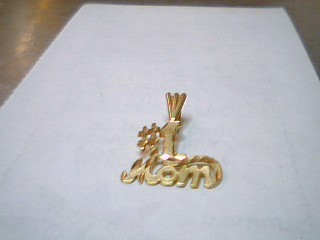 Gold Charm 14K Yellow Gold 0.7g