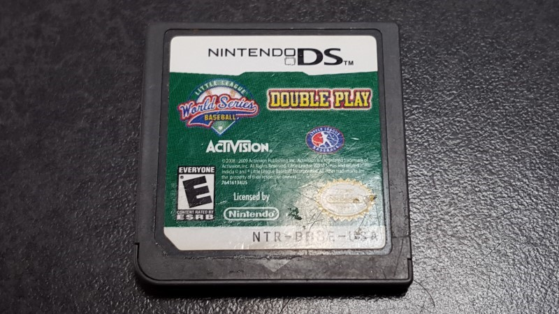 NINTENDO Nintendo DS Game LITTLE LEAGUE WORLD SERIES BASEBALL DOUBLE PLAY