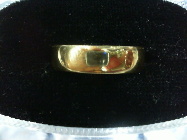 Gent's Gold Wedding Band 14K Yellow Gold 3.9g