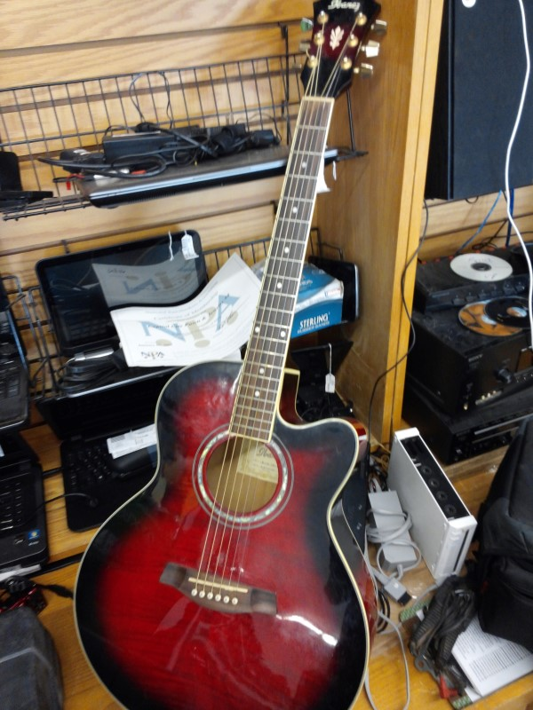 IBANEZ Electric-Acoustic Guitar AEL20E-TRS