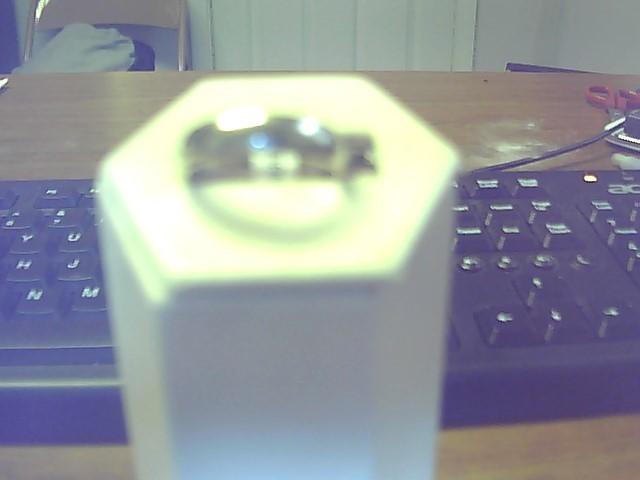 Lady's Gold Wedding Band 14K White Gold 5g
