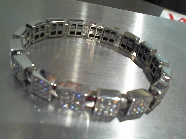 Gold Bracelet 14K White Gold 29.3g