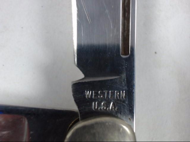 WESTERN POCKET KNIFE S-742 VINTAGE RARE