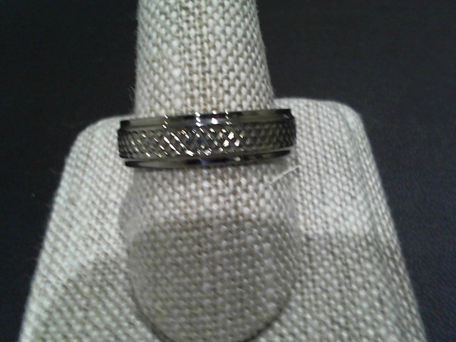 Gent's Silver Wedding Band 925 Silver 2.8g Size:10