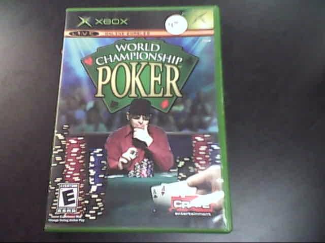 MICROSOFT Microsoft XBOX Game WORLD CHAMPIONSHIP POKER