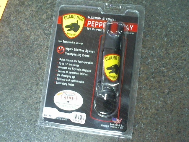 GUARD DOG SECURITY PS-GDOC18-2C 2 OUNCE PEPPER SPRAY