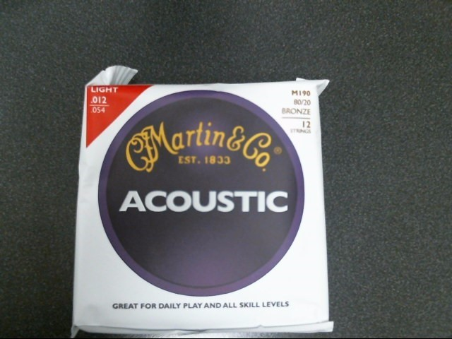MARTIN & CO Musical Instruments Part/Accessory M190 12-STRING LIGHT