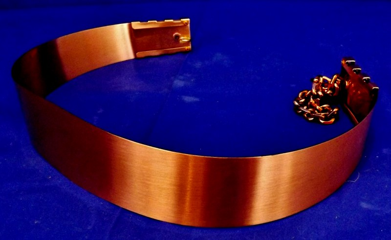 COPPER-TONE DESIGNER BELT