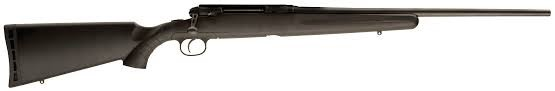 RIFLE FIREARM SAVAGE ARMS AXIS, #J115385, 7MM-08, BOLT; 7MM-08 NEW BLUED-L/HAND-
