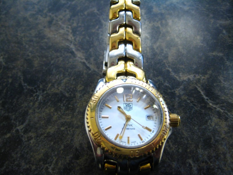 TAG HEUER Lady's Wristwatch LINK WT1455