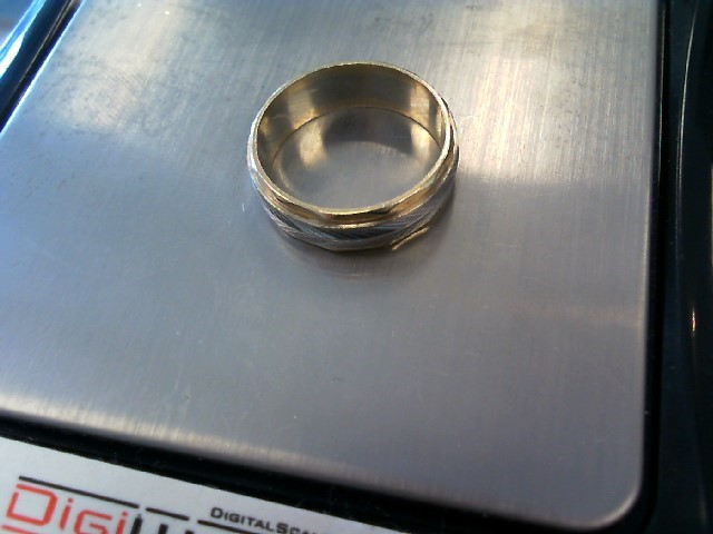 Gent's Gold Ring 14K Yellow Gold 4.37g Size:7
