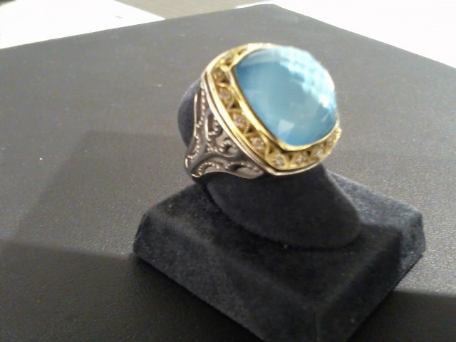 Lady's Silver Ring 925 Silver 15.7g
