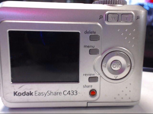 KODAK Digital Camera C433 EASYSHARE