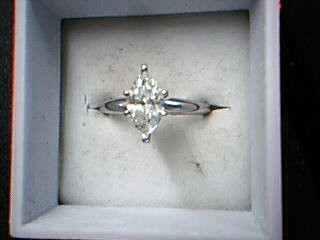 Lady's Platinum-Diamond Solitaire 1.00 CT. 950 Platinum 4.33g