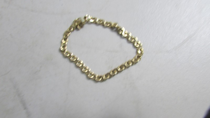 "19"" Gold Chain 14K Yellow Gold 20.55g"