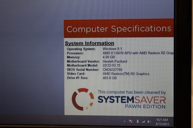HEWLETT PACKARD PC Laptop/Netbook 255 G3