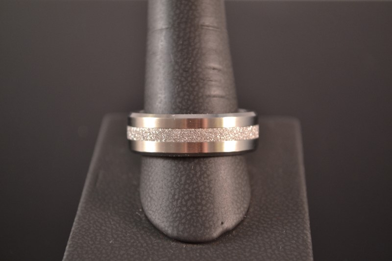 Gent's Ring Antique Stainless 11.5g