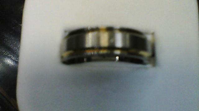 Gent's Ring Silver Titanium 3.2g