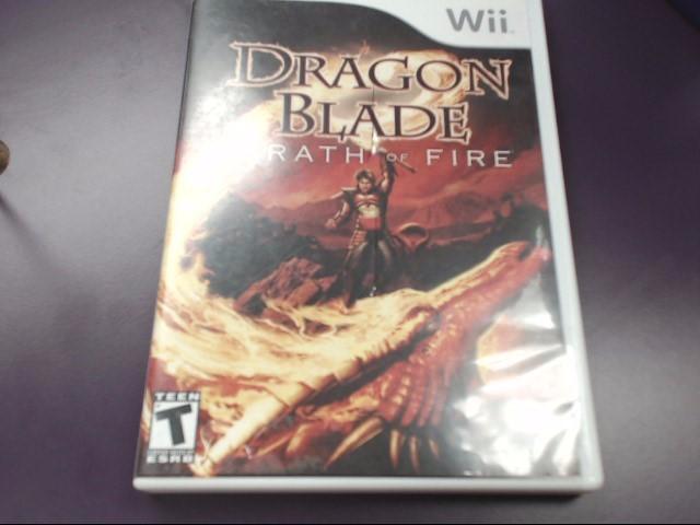 Dragon Blade: Wrath of Fire (Nintendo Wii, 2007)