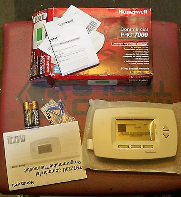 HONEYWELL PROGRAMMABLE THEMOSTAT commercial pro 7000 new in box