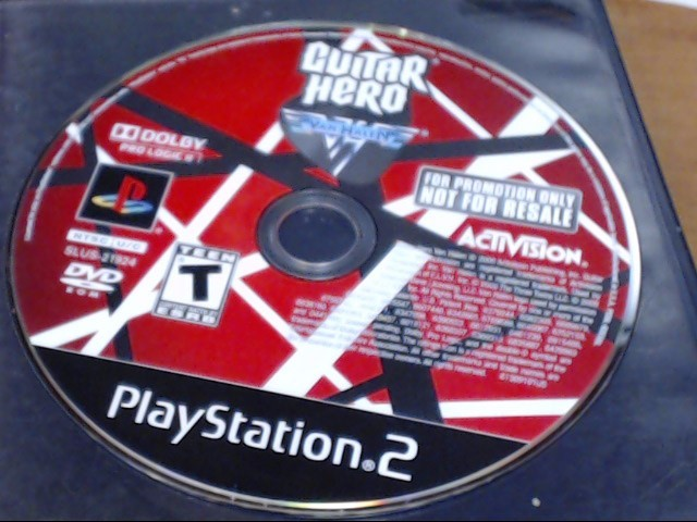 SONY Sony PlayStation 2 GUITAR HERO VAN HALEN PS2