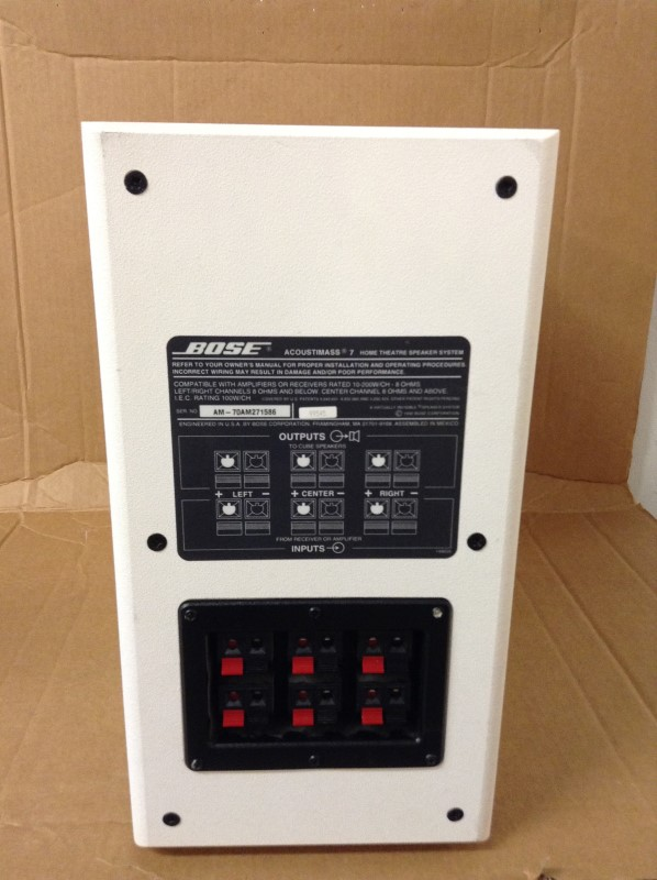 BOSE Surround Sound Speakers & System ACOUSTIMASS 7