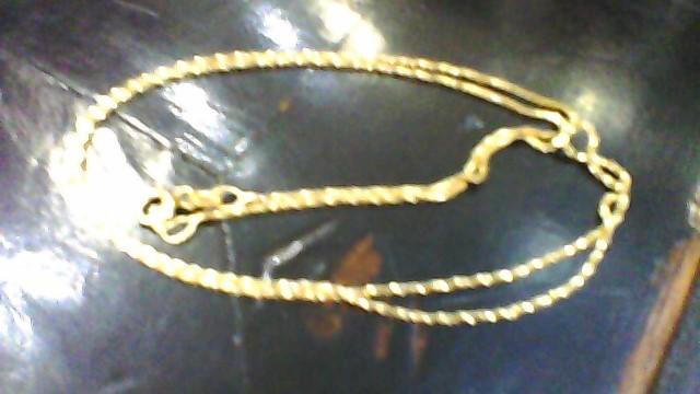 Gold Box Chain 14K Yellow Gold 2.19g
