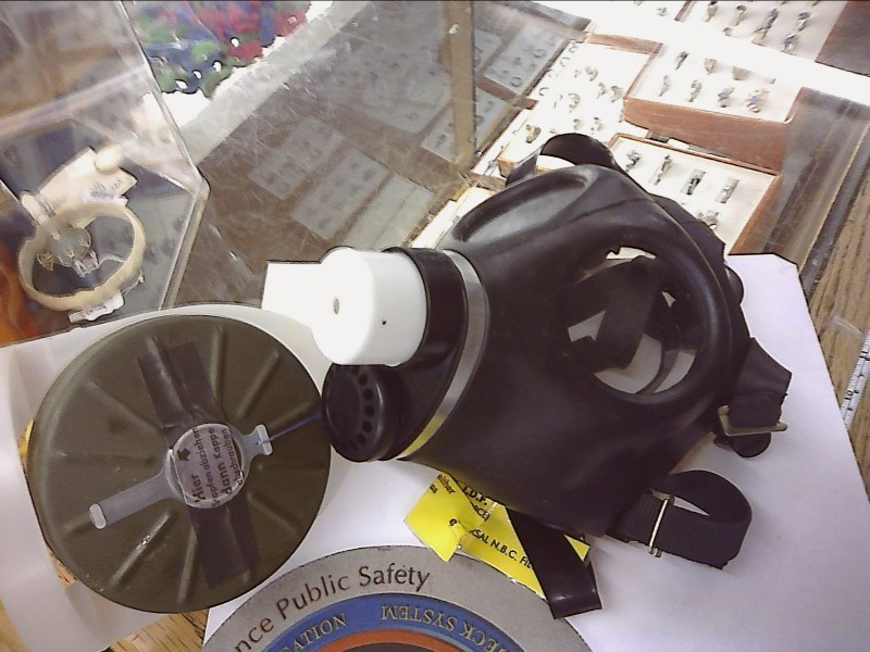 BANANA BAY BLACK GAS MASK