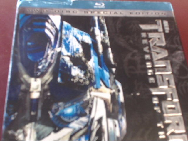 TRANSFORMERS REVENGE OF THE FALLEN - BLU-RAY MOVIE