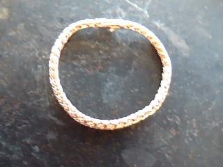 Tiffany & Co. 18k Double Russian Weave or Braid woven Gold Bracelet 8.6dwt