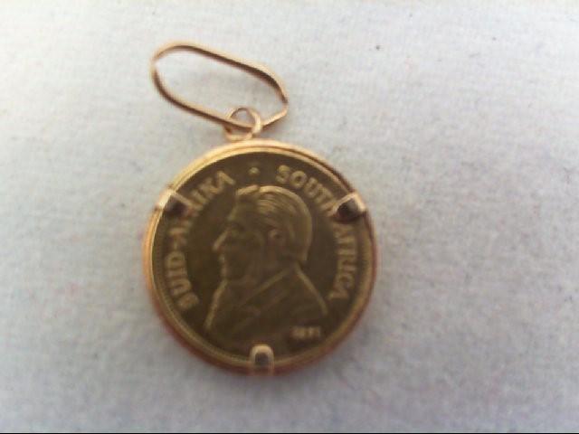 Gold Pendant 22K Yellow Gold 0.4g