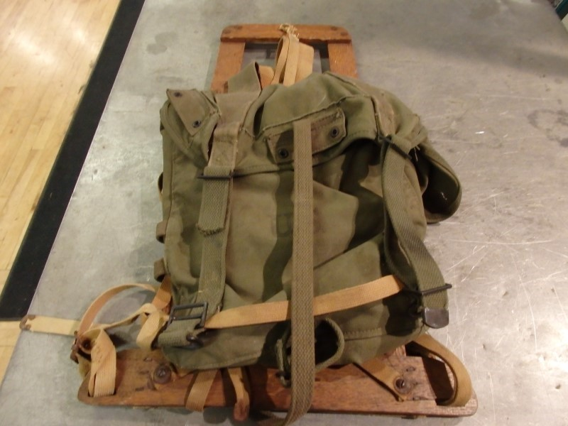 UNITED STATES ARMY Military Memorabilia 1945 FIELD PACK